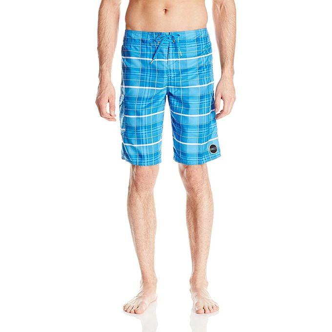 ONeill Mens Santa Cruz Plaid 21 Boardshorts