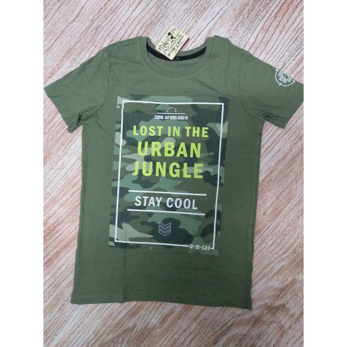 Sale on Boys Army T-shirt  e3a62acfca38