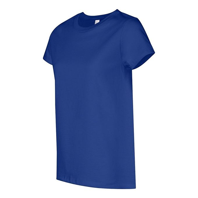 Hanes Womens T-Shirt [Deep Royal, Large]