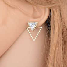 2ed22bb869f8 Hiamok Geometric Earrings Women  039 s Fashion Jewelry 2018 Hollow Metal  Jewelry Earring