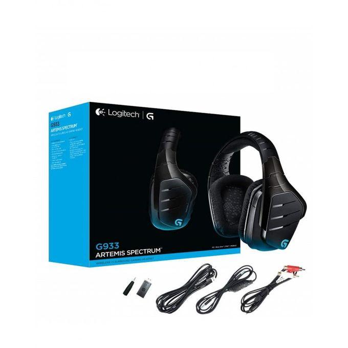 G933 Artemis Spectrum Wireless+Wired - RGB - Dolby 7 1 Surround - PC & PS4  & XBOX ONE & MOBILE & Nintendo