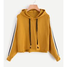 e5bd07cc6f14 Xiuxingzi Womens Striped Long Sleeve Hoodie Sweatshirt Jumper Hooded  Pullover Tops Blouse
