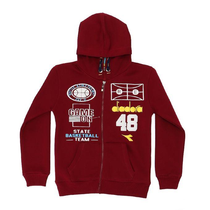 b4551bd8 Jumia Anniversary Deal! Sale on Cotton Zipped Boys Hooded Sweatshirt ...