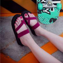 36a3a29743d Hiamok Womens Summer Flip Flops Casual Slippers Flat Sandals Beach Open Toe  Shoes