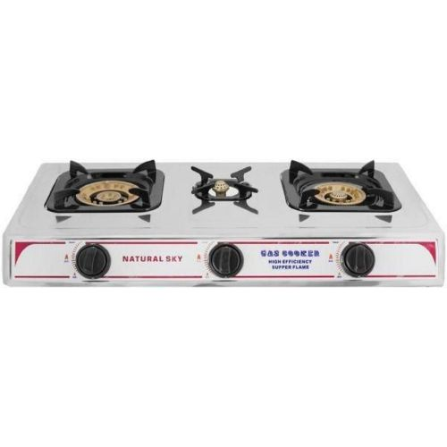 Gas Cooker - 3 Gas Burner