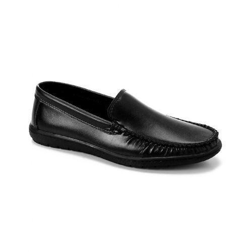 Slip On Men Shoes - Black