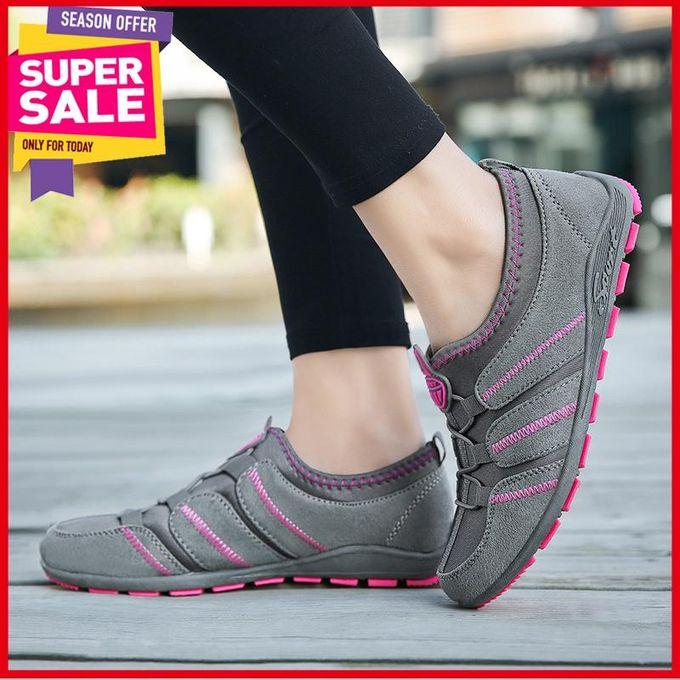 22ef004ff النساء صحي الاحذية تنفس ضوء الركض رياضية للمرأة المضادة للانزلاق لينة  الربيع في درب المشي أحذية