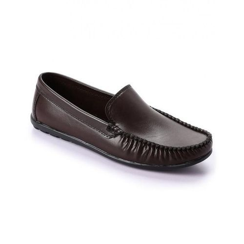 Trendy Men Loafers - Brown