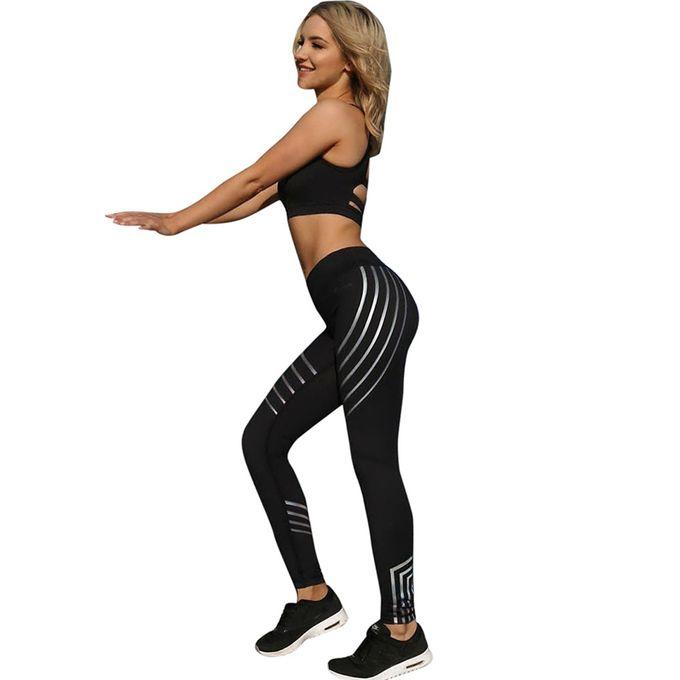 dd95171b7 Tectores Women Sexy Skinny Leggings Of Patchwork Mesh Yoga Leggings Fitness  Sports Pants Gift ...