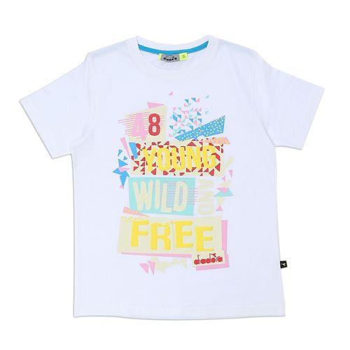 deafc4e1e Sale on Boys Printed T-Shirt - White | Jumia Egypt