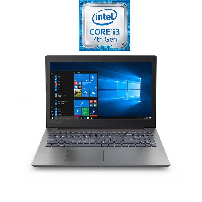IdeaPad 330-15IKBRA لاب توب - انتل كور i3 -  رام 4 جيجا بايت - هارد HDD 1 تيرا - شاشة HD 15.6 بوصة - رسومات انتل - DOS - أسود