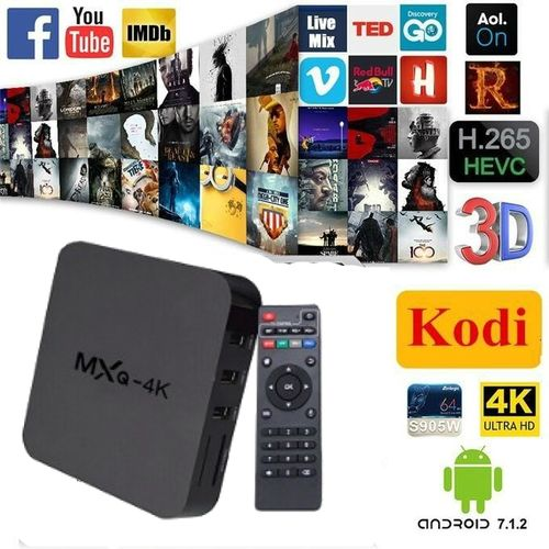 4K Ultra HD Android 7 2 1 TV Box