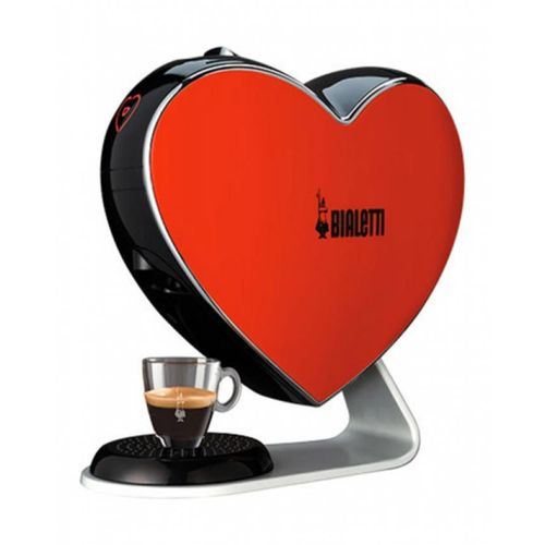 CF80 Espresso Heart Machine Red - 20 Bar - Capsules Only