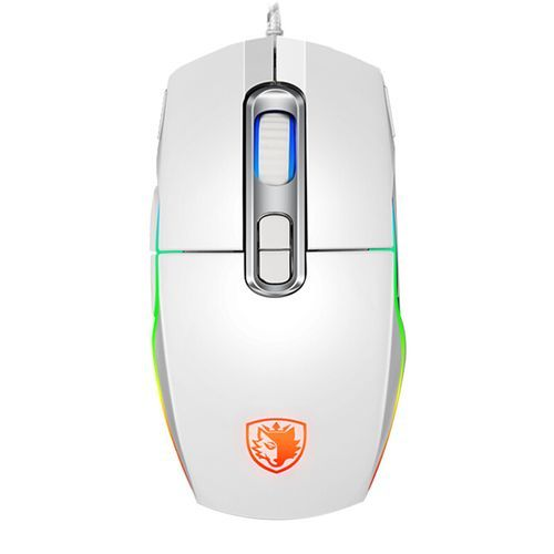 Aurora RGB Gaming Mouse - 2400 DPI - White