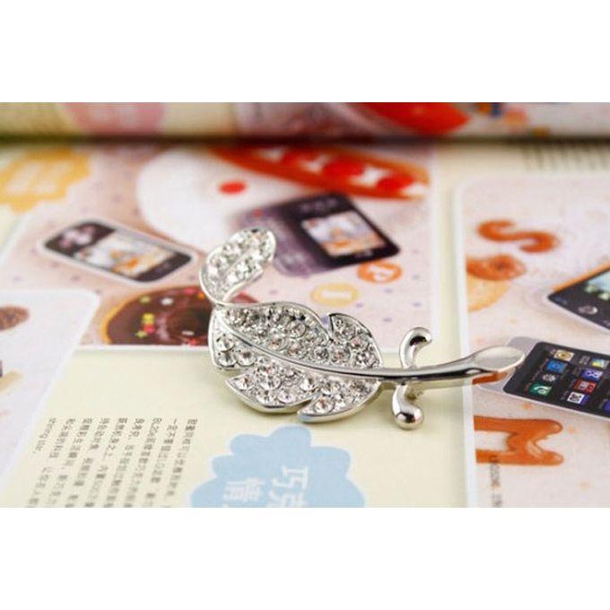 8fae9098e ... Xiuxingzi New Retro Vintage Cute Beautiful Feather Leaf Mini Cute  Brooch Pin ...