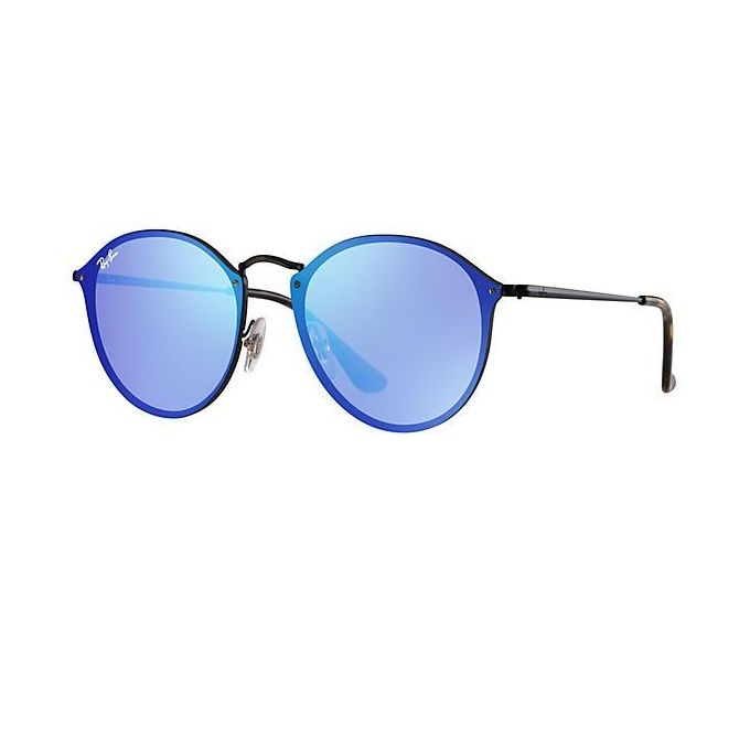 7eb1f19725 ... coupon for sunglasses ray ban round blaze black rb3574n 153 7v 59 14  large mirror 6ba13