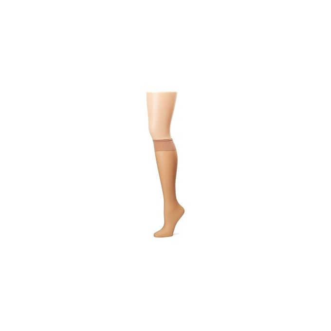 Hanes Silk Reflections Womens Plus-Size 2 Pack Knee High [Little Color, One Size]