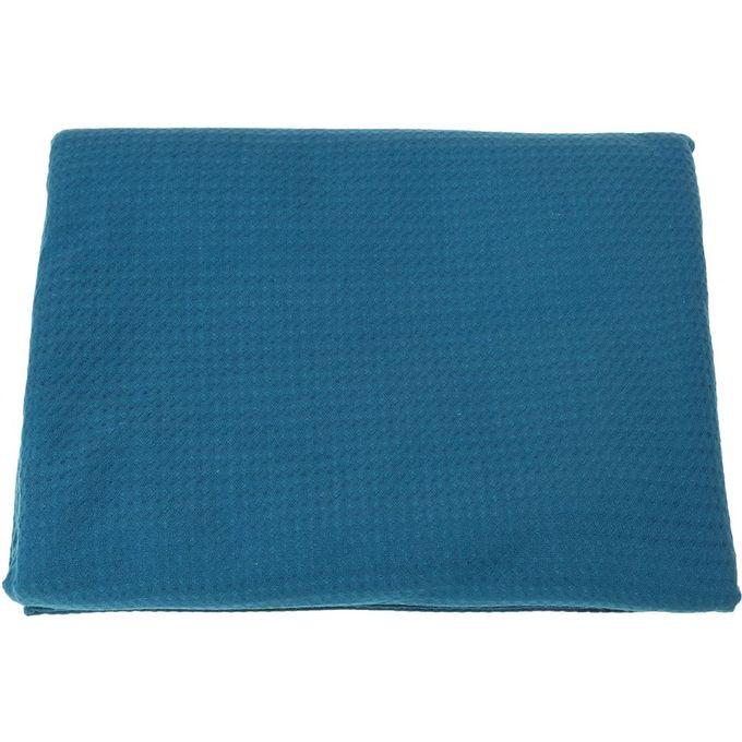1010 Double Bedspread – 260X240 cm – Indigo –  مصر
