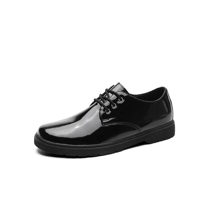 9327485f5 Men's Classic Lace Up Leather Formal Shoes Men Genuine Leather Casual Shoes