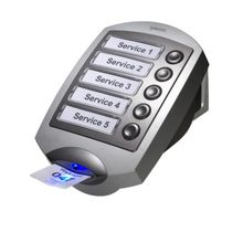 Queue Management System - Ticket Printer + Main Display + Counter Display + Solo Base License