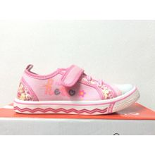 fb7da1538 Fleury Pink Canvas Children Kids Girls Sports Running Trainers PE Gym Shoes  Pump Casual Sneakers Sizes
