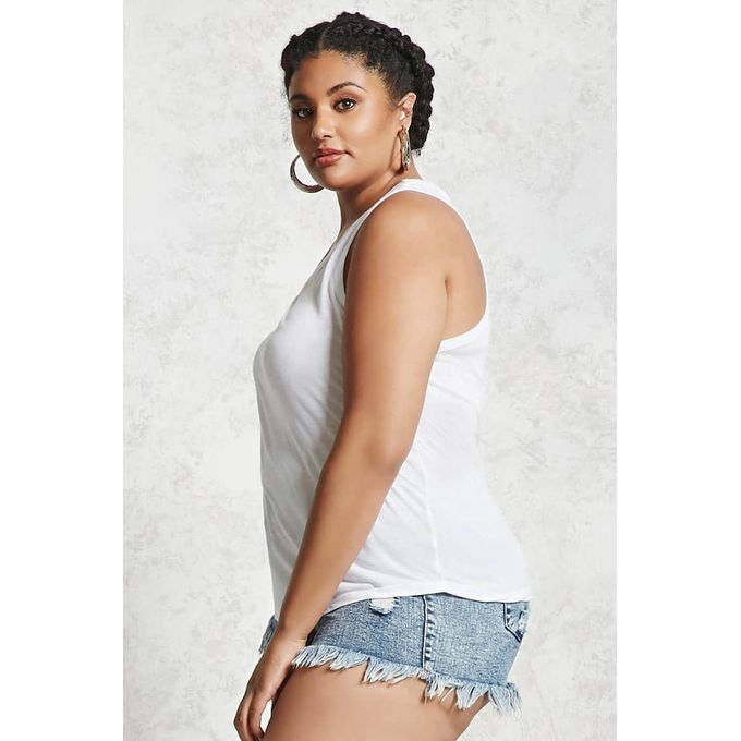 Calvin Klein Plus Size Cowl Neck Tank Top