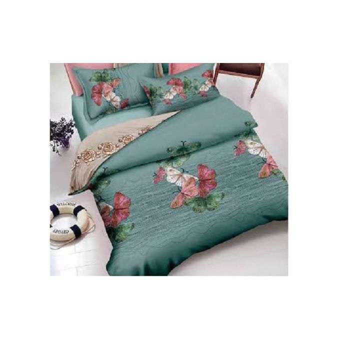 Printed Bedlinen Set – 5 Pcs – Multicolored –  مصر