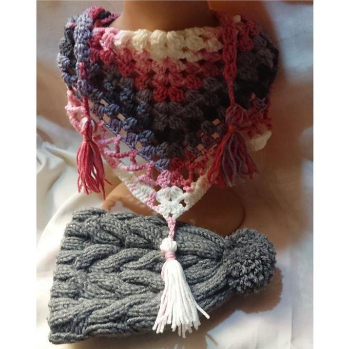 Sale On Scarf Triangle Crochet Handmade Wool Jumia Egypt