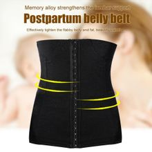 377774dbe2557 Breathable Postpartum Recovery Belly Belt Elastic Front Buckle Waist  Shaping Band