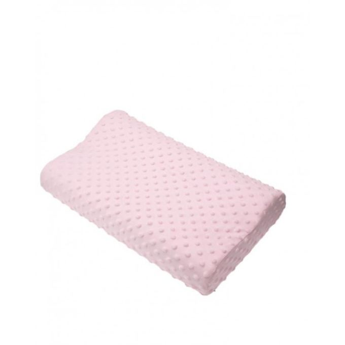 Slow Rebound Memory Foam Latex Neck Pillow – Pink –  مصر