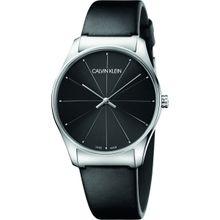 eddd1d00c Calvin Klein Womens Analogue Quartz Watch with Leather Strap K4D211CY