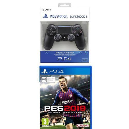 PES 2019 - PS4 - Arabic Version + Dualshock Ps4