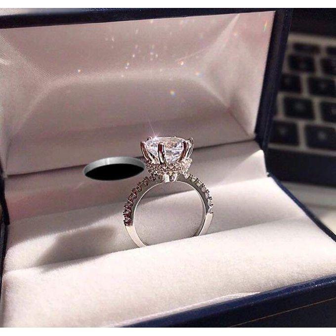 Women 925 Sterling Silver Ring - Silver