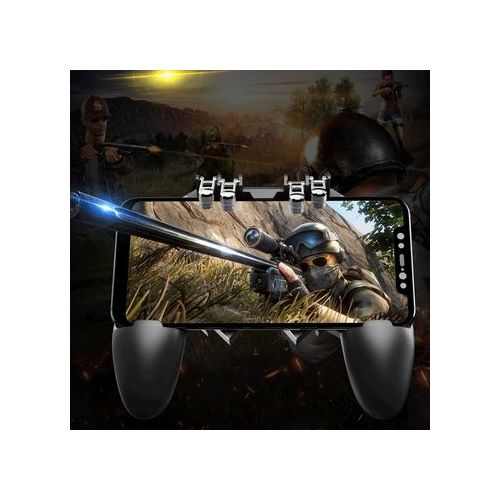 PUBG Mobile ( AK-66 ) Joystick With 4 Trigger For IPhone Android
