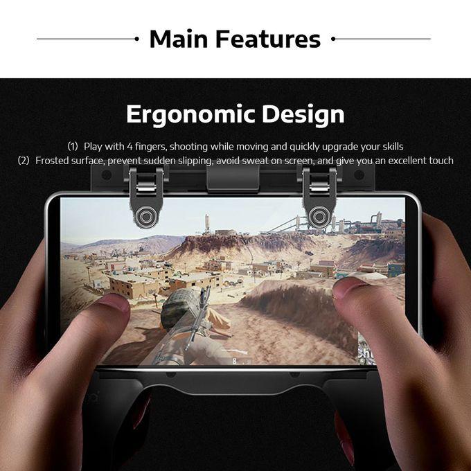 PUBG Mobile Gamepad Controller Grip With Trigger Ipega Original Mobile Game  Joystick For IOS / Android PG-9117