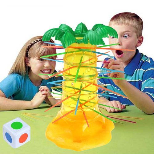 Schoolcool HOT Falling Tumbling Monkey Family Toy(One Size) Climbing Board Game Kids