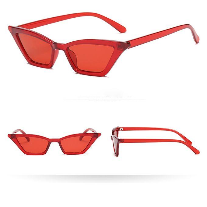 0454d09ae0 Sale on Women Vintage Cat Eye Sunglasses Retro Eyewear Fashion ...