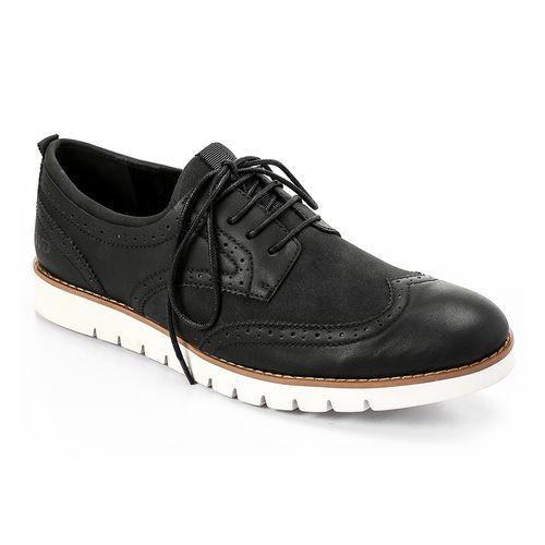 Zipped Classic Men Shoes - Black