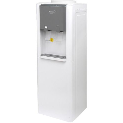 By502 Water Cooler With Refrigerator - White