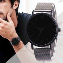 7d4d3f36b3d08 Hiamok Business Casual Design Watch Stainless Steel Couple Quartz Analog  Wrist Watch