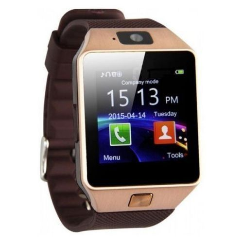7ade7e8450c1 Sale on Smart Watch with SIM Card for Voice Calls - Gold