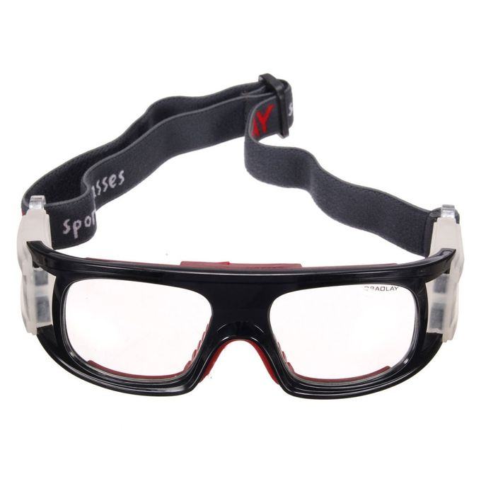 31583a4c570 Basketball Soccer Football Sports Protective Eyewear Goggles UV Eye Glasses  Gift Red And Black ...