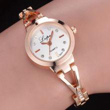 ae7211ef1 Vogue Women's Watch Crystal Diamond Bracelet Quartz Wrist Watch