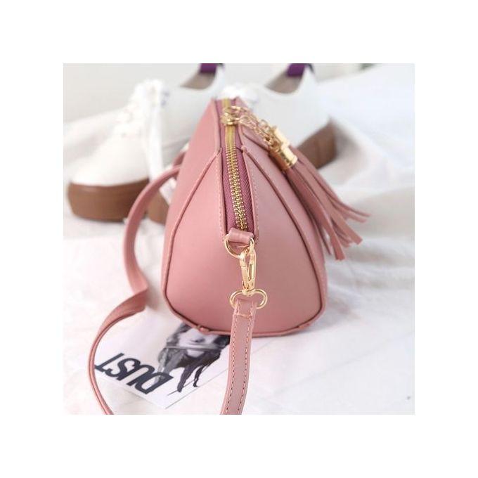 6267a74207 Tectores Fashion Accessories Women Fashion Handbag Tassel Shoulder Bag  Small Tote Ladies Purse