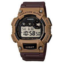 35a37729ad75a Casio Men  039 s W-735H-5AVCF Vibration Alarm Digital Watch