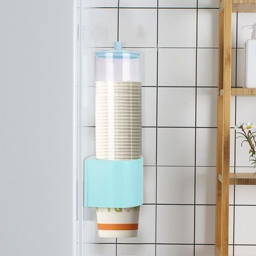 Small Size Water Cooler Paper Cup Holder Disposable Pull Type Dispenser Restaurant