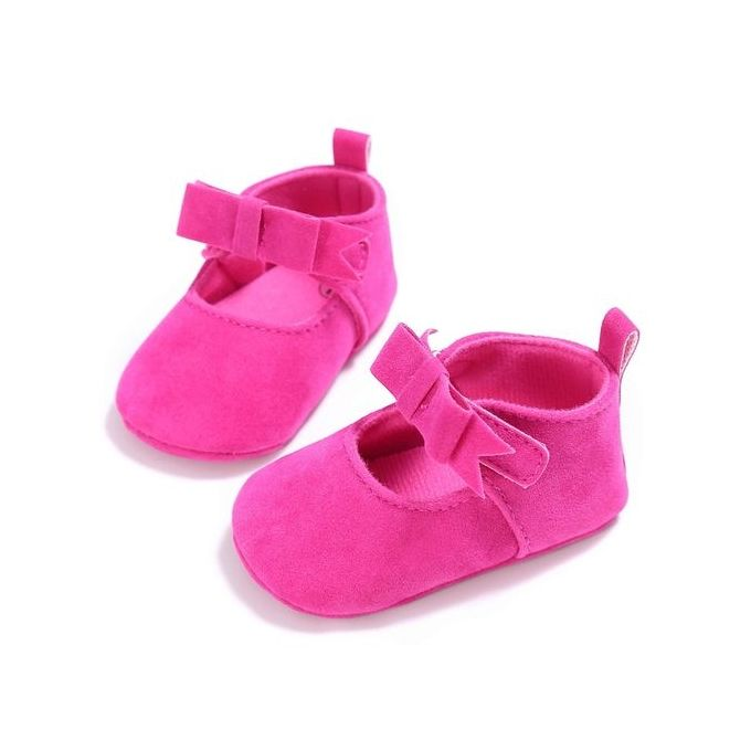 e4195660cd5b Toddler Girl Crib Shoes Newborn Flower Soft Sole Anti-slip Baby Sneakers -As  Shown