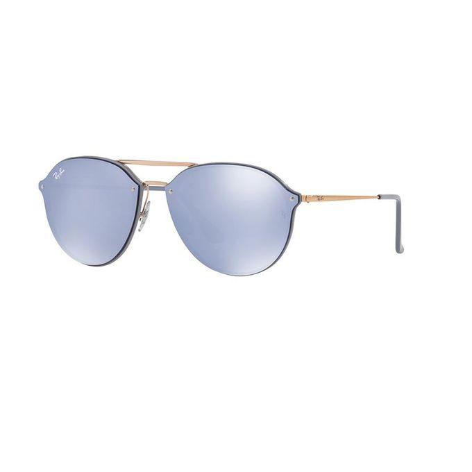 fbdc09dee3b ... Sunglasses Ray-Ban Blaze Double Bridge RB4292N 6326 1U 62-14 Violet  Large ...
