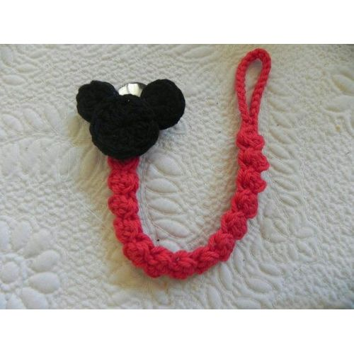 Sale On Crochet Mickey Mouse Pacifier Clip Jumia Egypt
