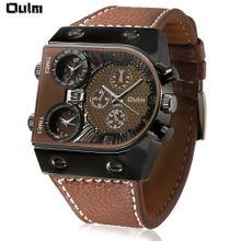 d6735191b1b Men  039 s 3-Movt Quartz Watch Three Alternative Time Zones - Brown